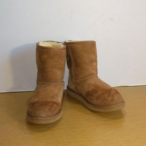 Ugg Suede Ankle Boots Sz 5